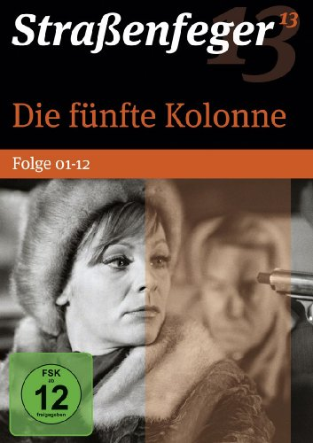 Strassenfeger 13 - Die fünfte Kolonne, Folge 01-12 (4 DVDs)