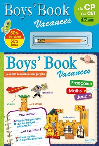 Boys' Book Vacances - Du CP au CE1
