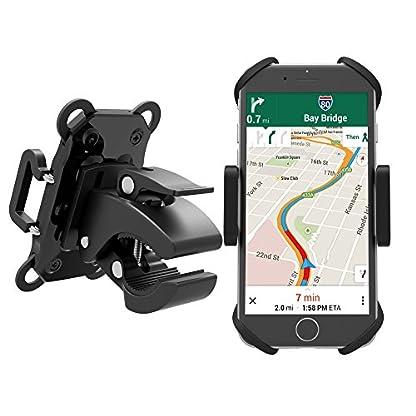 TaoTronics-Handyhalterung-Fahrrad-Fahrradhalterung-Handyhalterung-Motorrad-Halter-3-facher-Sicherheitschutz-fr-Smartphones-und-GPS-Ungeeignet-fr-Samsung-Galaxy-S8