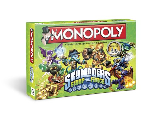 Winning Moves 43256 - Monopoly: Skylanders Swap Force (43256)