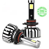 Wiseshine hb3 9005 80W super COB de full kit led Diseño canbus 8000 Lumen 6000K blanco frío