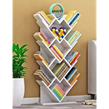 WSSF  Bücherregale Baum Bücherregal Persönlichkeit Holz Kinder Bücherregal  Boden Innen Wohnzimmer Schlafzimmer Herzförmigen Lagerregale Kreative