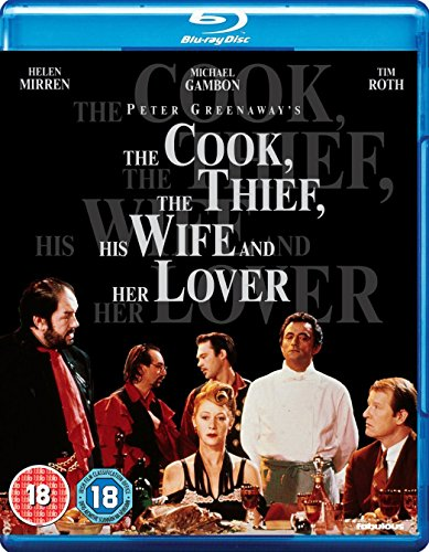 The Cook, The Thief, His Wife and Her Lover [Blu-ray] UK-Import, Sprache-Englisch.