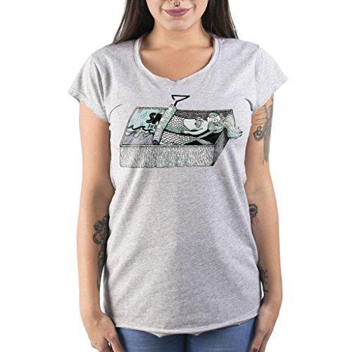 T-Shirt SARDINIE - Marinetti by Mush Grigio