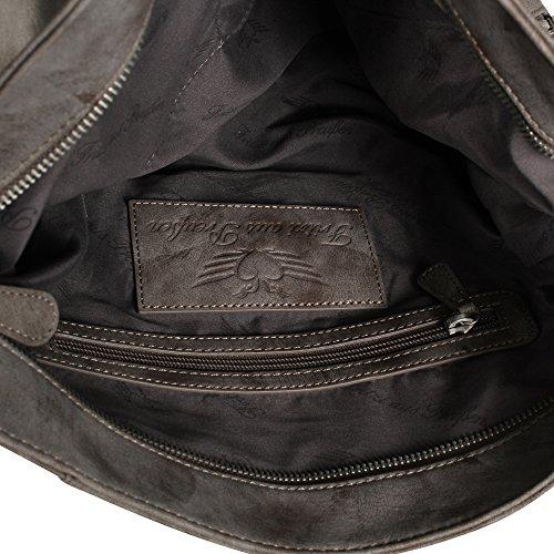 Fritzi aus Preußen Yolanda Swipe Shopper Tasche 34 cm Taupe