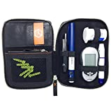 diabag Diabetiker-Tasche ONE plus Leder Schwarz, 105-1