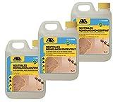 Fila 3X 1l Cleaner neutrales Reinigungskonzentrat für Marmor, Naturstein, Terrakotta, Cotto, Holz, Laminat 3X 1l. für bis zu 4500 qm