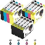 Pictech Kompatible Tintenpatronen Ersatz für Epson 16XL Tintenpatronen für Epson WorkForce WF-Präzisions-Core 2650WF Color All-in-One-Drucker