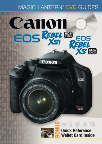 Canon Rebel XSi EOS 450D, EOS Rebel XS EOS 1000D (Magic Lantern DVD Guides) Xsi Dvd