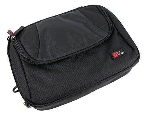 DURAGADGET 2 in 1: Kopfstützenhalterung in gepolsteter Tasche für Medion Life E72053 (MD 43084) DVD-Player und APEMAN 7.5 Zoll tragbarer DVD-Player (PV760)