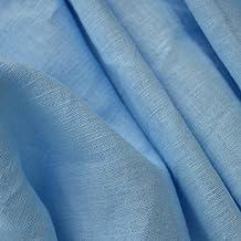 Tela de lino - Azul helénico - 100% lino suave | ancho: 137cm (1 metro)