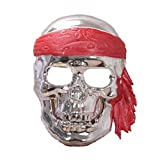 YAZILIND Moda mascarilla máscara de Cabeza Horror Miedo Esqueleto...