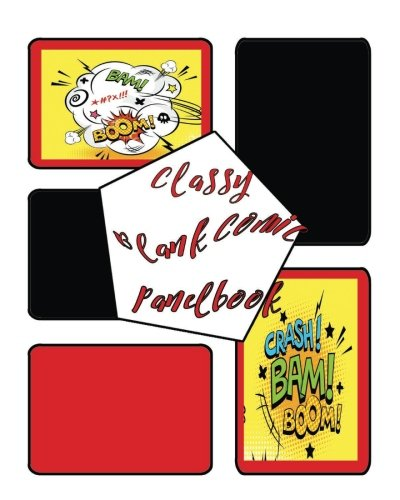 Preisvergleich Produktbild Classy Blank Comic Panelbook: 8 X 10,  100 Pages,  Multi Panels Comic Book Paper Template , comic sheet for drawing your own comics,  stimulate your ... sketchbook for all. (Blank Comic N Squirrel)