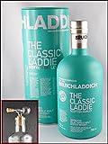 Bruichladdich The Classic Laddie Islay Single Malt Whisky Original Umverpackung & 1 Flaschenportionierer aus Echtglas, kostenloser Versand