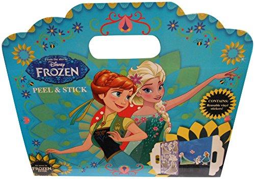 La Reine des Neiges - Fnpas1 - Disney - Autocollant Repositionnable sans Trace - Fever - Peel Et Stick