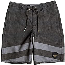 Quiksilver Boys Crypt Brigg Beachshort Youth 1 Beachshorts Black 23