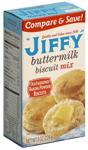 Jiffy Buttermilk Biscuit Mix 226g Test
