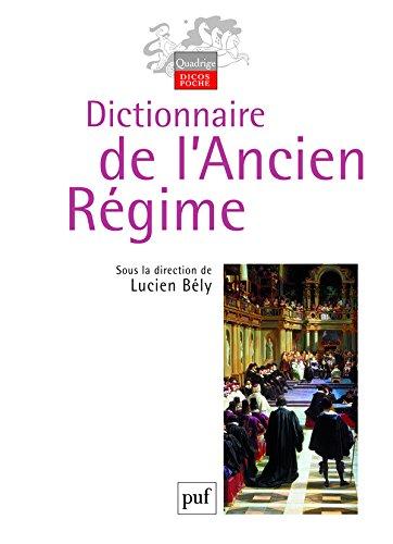 Dictionnaire de l'Ancien Régime