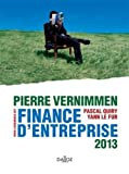 Finance d'entreprise 2013 - Dalloz Gestion