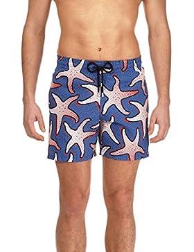 VILEBREQUIN Bañador Ligero y Plegable con Estampado Starfish Art para Hombre