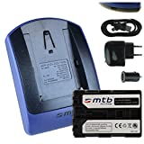 Batterie + Chargeur (USB/Auto/Secteur) FM500H pour Sony DSLR Alpha A300 A350../ SLT-A58 A65 A77 A68.. / ILCA-77M2 - v. liste!