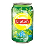 #2: Lipton Green Ice Tea Drink Can (Imported), 330 ML [Pack Of 6]