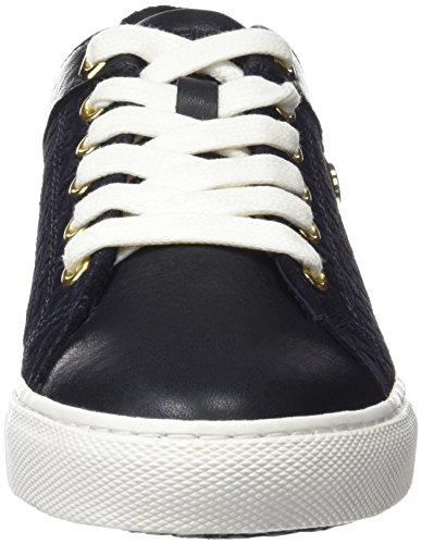 Tommy Hilfiger V1285ali 14c1, Sneakers Basses Femme Bleu (Midnight 403)
