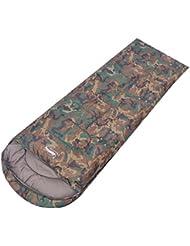 saco de dormir adultos engrosada/camuflaje al aire libre saco de dormir ultraligero/El acampar de algodón almuerzo saco de dormir-B