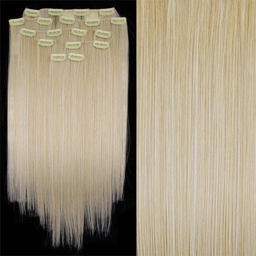 8 X Extension A Clips De Cheveux Fibre Japonais 20\