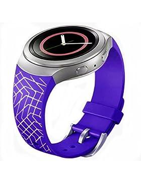 Ouneed® Uhrenarmbänder , 2016 Luxus TPU Silikon Uhrenarmband Bügel für Samsung Galaxy Gear S2 SM-R720