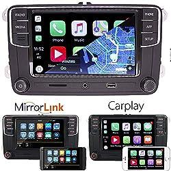 "6,5"" Autoradio de voiture Radio MIB2 RCD330 Carplay Mirrorlink Bluetooth pour VW Golf Caddy Touran Passat Tiguan Polo EOS CC"