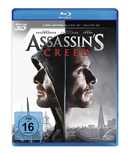 Assassin's Creed [3D Blu-ray]