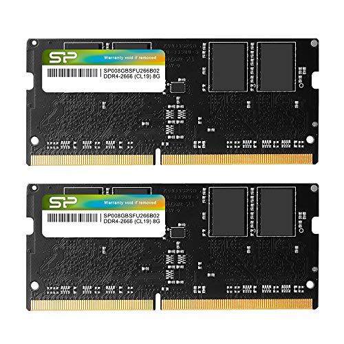 Silicon Power 16 GB 8 GBx2 DDR4 2666 MHz 260 Pines