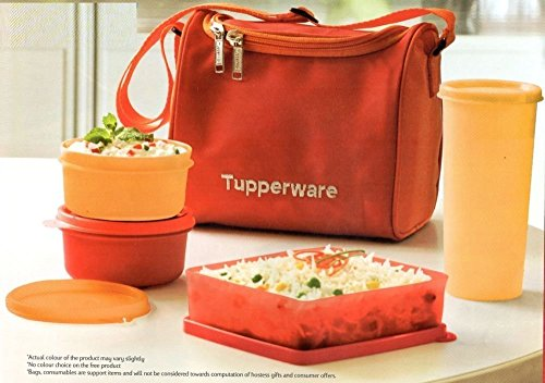 Tupperware pranzo migliore impostato borsa attraente libero libero