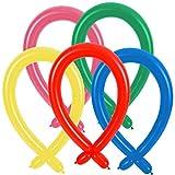 Modellierballon Ballons zum modellieren von Formen zB Spinne Hund Kaninchen Schwert Kolibri Frosch Schwan Papagei - Deko Kindergeburtstag Geburtstag Hochzeit Party Feier - Freie Stückzahlauswahl (30x Bunt)