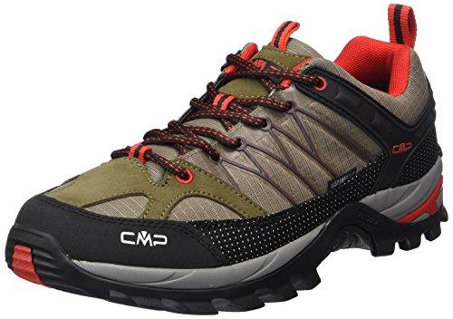 C.P.M. Rigel, Chaussures de trekking et randonnée homme Vert - Grün (Cactus F878)