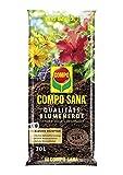 COMPO SANA® Qualitäts-Blumenerde, Universalblumenerde mit einzigartiger Zusammensetzung für optimales Pflanzenwachstum
