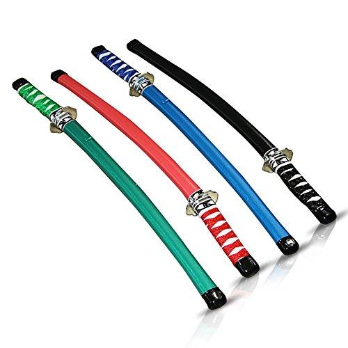 12 x HC-Handel 911431 Großes Ninja Schwert Kids 60 cm sortiert (Ninja Schwert Kostüm)