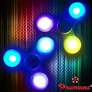 Buy Premsons Fidget Hand Spinner With Light Colors May