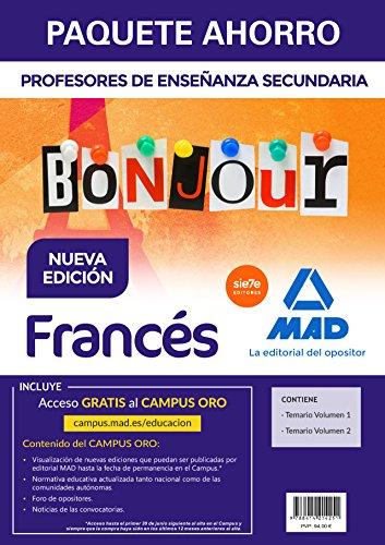 Paquete Ahorro Francés Cuerpo de Profesores de Enseñanza Secundaria por VARIOS AUTORES