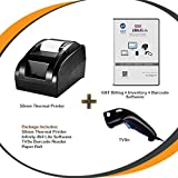 #2: Infinity Infocom 58mm Thermal Printer With Invoicing Software And Barcode Reader