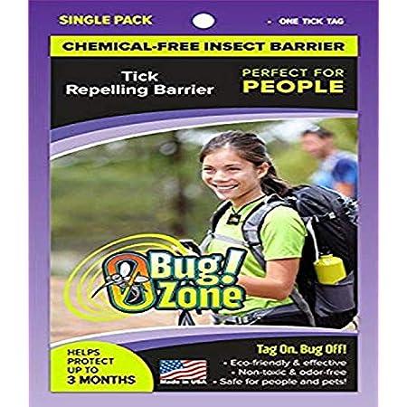 0Bug!Zone Anhänger für Zecken, 1 Stück