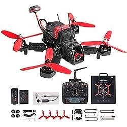 Weyland WD 215 RC Racing Drone con Transmisor Devo 7 RC Quadcopter con Cámara 600TVL y F3 Flight Control RTF