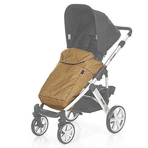 ABC Design Beindecke / Fußdecke für Kinderwagen & Buggy - schützt vor Wind & leichtem Regen - optimal für die Übergangszeit - universal einsetzbar - Olive
