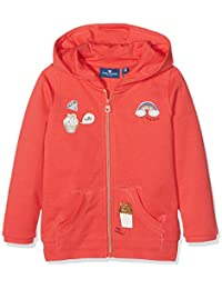 Tom Tailor Hoody Jacket with Badges, Sweat-Shirt Fille