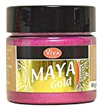 Viva Decor Maya Gold Magenta