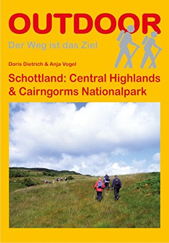 Preisvergleich Produktbild Schottland: Central Highlands & Cairngorms National Park (OutdoorHandbuch)