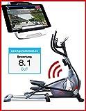Sportstech Elite Crosstrainer CX650 Elliptical mit Smartphone App Steuerung