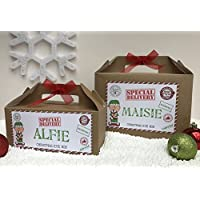 PERSONALISED CHRISTMAS EVE GIFT BOX ELF SANTA LETTER