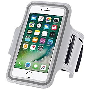 N+ INDIA Lenovo Vibe X3 Fancy Sports Armband, Black Gym,Running, Jogging,Walking,Hiking,Workout and Exercise Armband Holder For Lenovo Vibe X3 with Extra Adjustable-Length Extension Band White